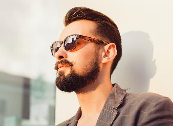 Baard dragen is aantrekkelijk